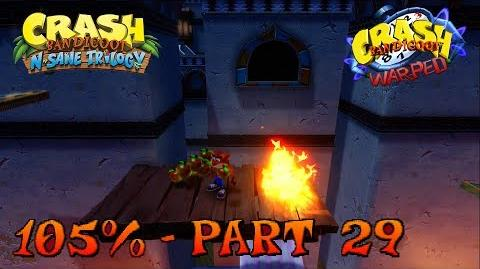 Crash Bandicoot N. Sane Trilogy - Flaming Passion