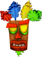 Aku aku crash nitro kart render by crasharki-da9e3xn