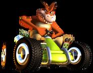 Ctr crash team racing dingodile kart by paperbandicoot-dah08st
