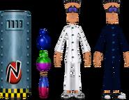 Assistentes de Laboratório Explosivos (WOFC)