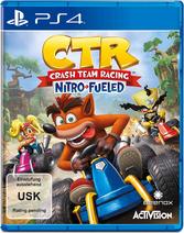 Crash Team Racing Nitro Fueled Box Art PS4