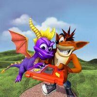 Crash e Spyro