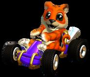 Ctr crash team racing pura kart by paperbandicoot-daikd2l