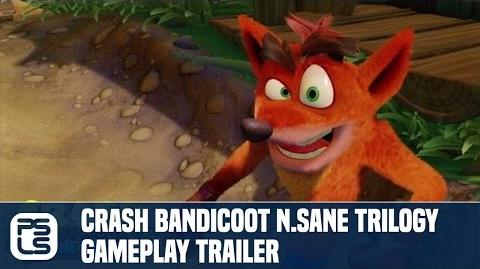 Crash Bandicoot NSane Trilogy Gameplay Trailer (Crash Bandicoot PS4)