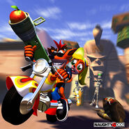 Crash Bandicoot Warped (Europe)