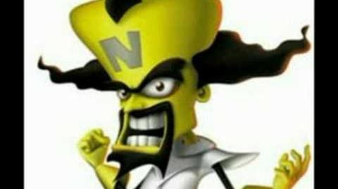 Dr. Neo Cortex theme metal version