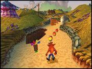 1-3Crash Bandicoot 3 Warped Gameplay