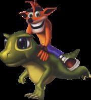 Crash e Dino