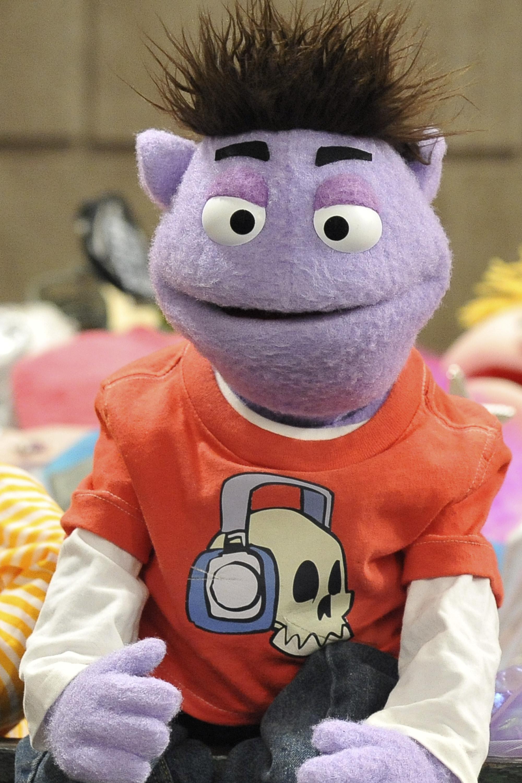 Crash And Bernstein Crash Puppet For Sale