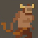 Mini Minotaur Icon