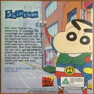 The Sun Fox Kids promo DVD Shin Chan back