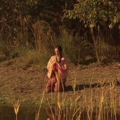 Opening scene with Ren by the lake