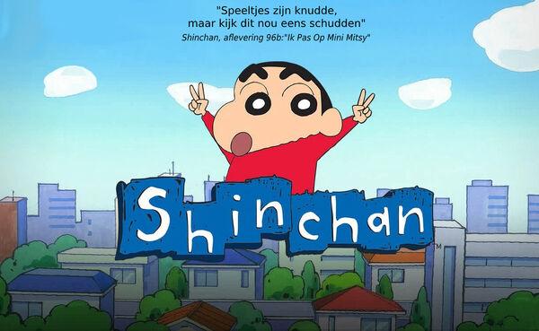 Shinchan Front Citaat