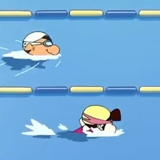 Kosuke racing against Ai