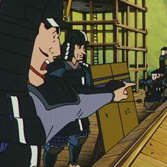 Same battle scene in the animated movie