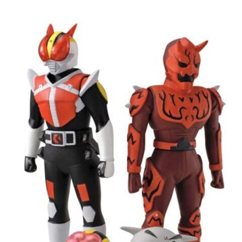 PVC Figures issues by Bandai