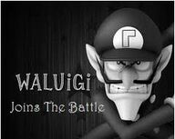 Waluigi join battle