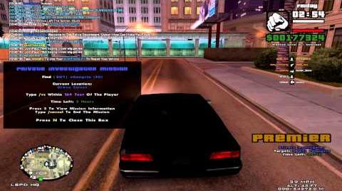 CB CNR Video - Private Investigator Mission