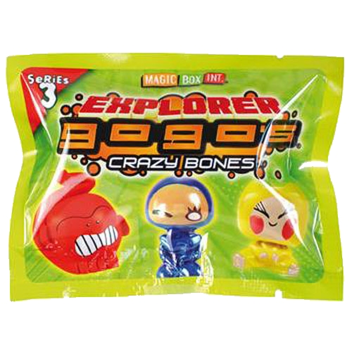 Spiele Crazy Bones Gogos Explorer #38 DUM DUM Yellow S3