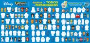 Disney Gogos checklist