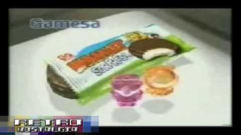 """Comercial """"mamut sorpresa,tolas cartoon network.gamesa""""2002"""