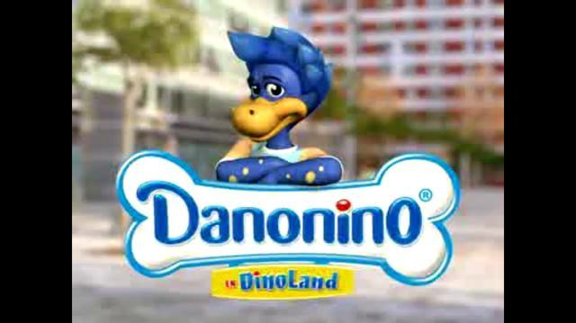 Gogo's Danonino Dino Gogo's Commercial