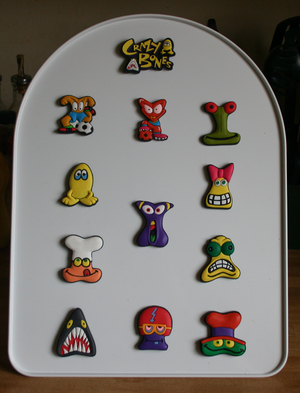 Magnets w easel
