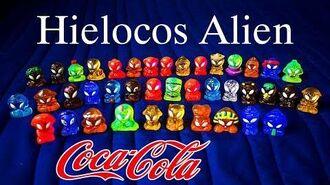 Baul Del Recuerdo Hielocos Alien Coca-Cola