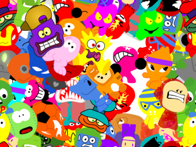 Copy of rough draft background gogos crazy bones (5)