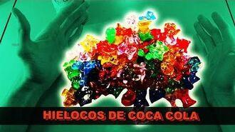 HIELOCO de COCA COLA