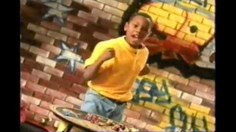 Crazy Bones Series 1 Rap Commercial 1998