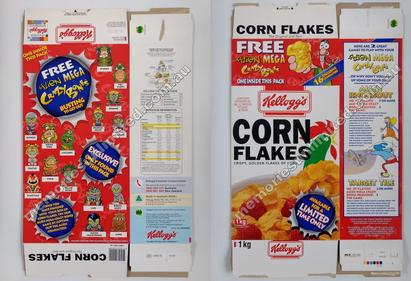 Aussie Cornflakes Box