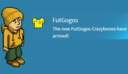 Brazil Habbo Hotel with FutGogos Badge promotion