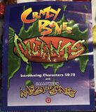 Mutants book mega bones halloween