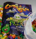 Sticker book of aliens rare
