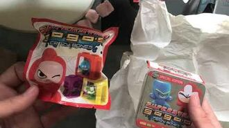 SUPERSTARS GOGOS CRAZY BONES SERIES 5 (2 Pack & Collectors Tin)