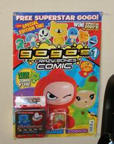 Comic mini-tin