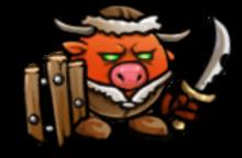 Minotaur raider