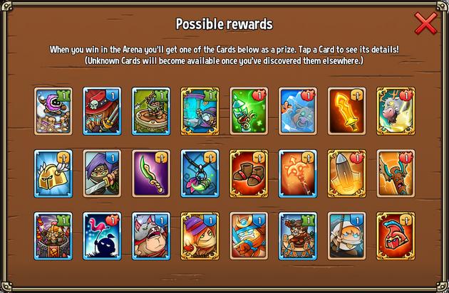 Orc Arena Rewards