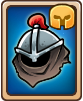 Card leatherhelmet