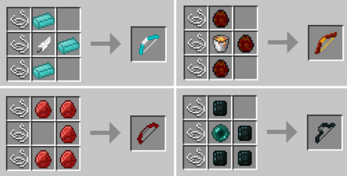 Bow recipes