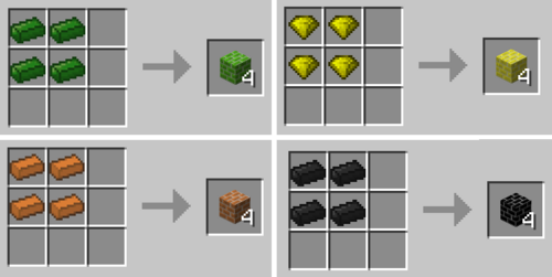 Brick recipes