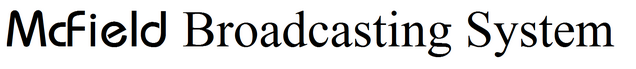 File:McField Brodcasting System Logo.png