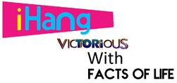 I Hang Victorious With Facts of Life Logo