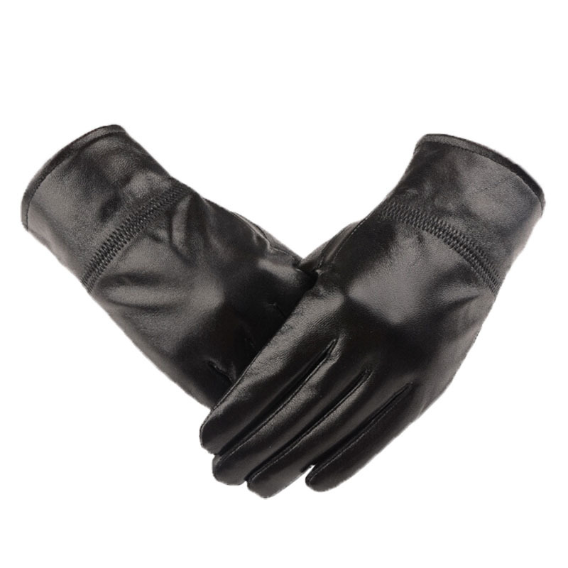 Black Mens Dress Gloves