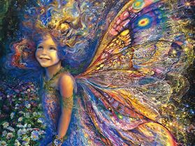 The Forest Fairy - by Josephine Wall