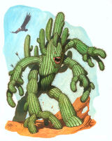 Cactus Humanoid