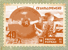 Old stamp czec
