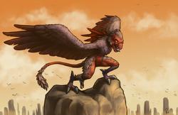 Bird monster