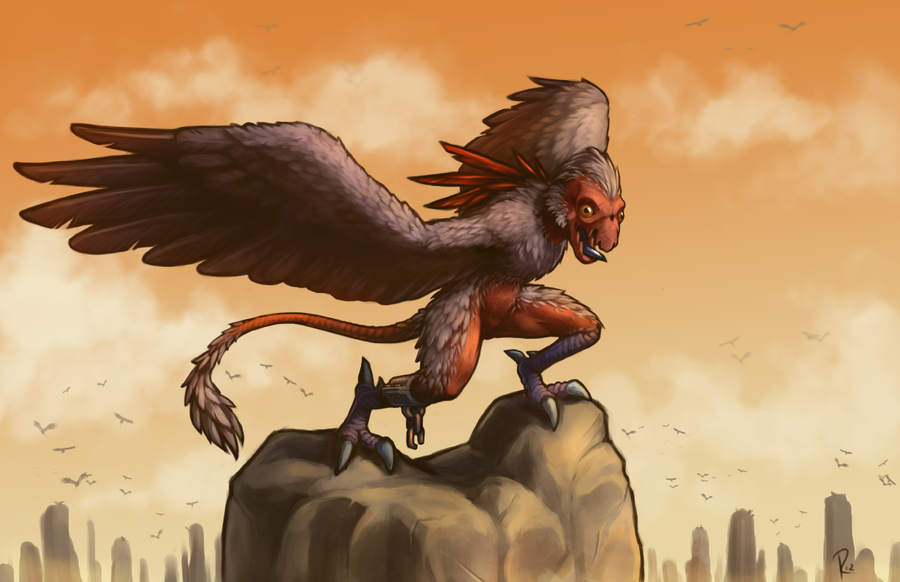 Saharan Monkey Bird | Create-A-Cryptid Wiki | FANDOM ...